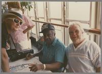 Milt Hinton and James Morrison [photograph, front]