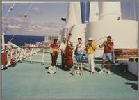 Al Grey and unknown others [photograph, front]