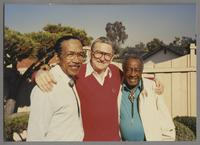 Gus Johnson, Ralph Sutton and Milt Hinton [photograph, front]