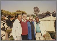 Gus Johnson, Ralph and Sunnie Sutton and Milt Hinton [photograph, front]