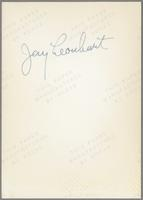 Jay Leonhart [photograph, back]