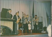 Doc Cheatham, Red Holloway, Urbie Green and Dan Barrett [photograph, front]
