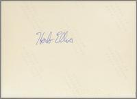 Herb Ellis [photograph, back]