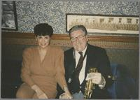 Joe and Laurie Temperley [photograph, front]