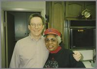 Donald Fillius and Mona Hinton [photograph, front]