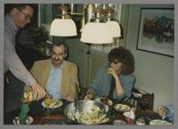 Donald Fillius, Kenny and Elsa Davern [photograph, front]