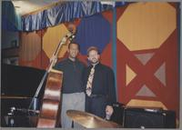 John Clayton and Jeff Hamilton [photograph, front]