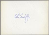 Bill Cunliffe [photograph, back]