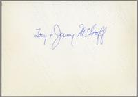 Tony, and Jimmy McGriff [photograph, back]