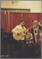 Howard Alden and Andy Simpkins [photograph, front]