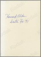 Howard Alden and Andy Simpkins [photograph, back]