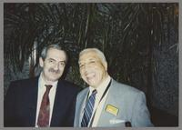 Kenny Davern and Harold Ashby [photograph, front]