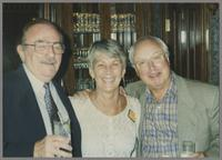 Phil Bodner, Barbara Guy and Jake Hanna [photograph, front]