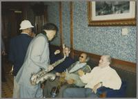 Al Grey, Plas Johnson, Kenny Davern, Snooky Young and Ralph Sutton [photograph, front]