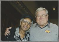 Mona Hinton and Milt Fillius Jr. [photograph, front]