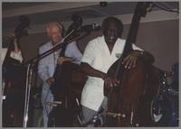 Bog Haggart and Milt Hinton [photograph, front]