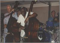 Bob Haggart, Milt Hinton and Butch Miles [photograph, front]
