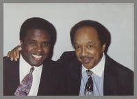 Ricky Woodard and Snooky Young [photograph, front]