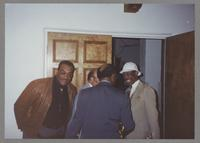 Jeff Clayton, Red Holloway, Clark Terry, and Al Grey [photograph, front]