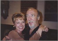 Herbie Mann and Susan Janeal Arison [photograph, front]