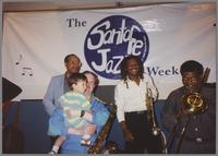 Alan Dawson, Scott Hamilton and son; Oscar Brashear, and George Bohanon [photograph, front]