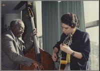 Milt Hinton and Howard Alden [photograph, front]