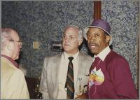 George Masso, Conte Candoli, and Al Grey [photograph, front]