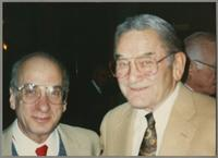 Dick Hyman and Ralph Sutton [photograph, front]
