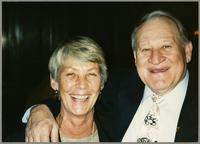 Maddie Gibson and Carl Fontana [photograph, front]