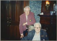 Bob Haggart and Yank Lawson [photograph, front]