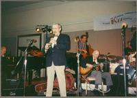Ralph Sutton, Kenny Davern, Dave Stone, George Van Eps, and Butch Miles [photograph, front]