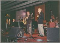Dick Hyman, Kenny Davern, Bob Wilber, and Butch Miles [photograph, front]