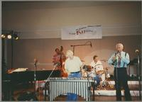 Eugene Wright, Peter Appleyard, Jack Sperling, and Abe Most [photograph, front]
