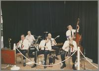 Ron Going, Bert Thompson, Ted Thomas, Vic Loring, Mike Fay, and James Leigh [photograph, front]