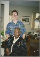 Donald Fillius and Milt Hinton [photograph, front]