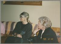 Elsa Davern and Sunnie Sutton [photograph, front]