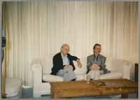 Dick Hyman and Monk Rowe [photograph, front]