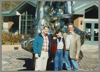 Tony, Nelma, and Donald Fillius [photograph, front]