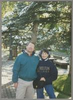 Tony and Nelma Fillius [photograph, front]
