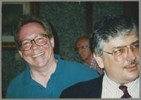 Donald Fillius and Dan Barrett [photograph, front]