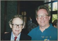 Bob Wilber and Donald Fillius [photograph, front]