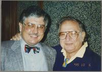 Dan Barrett and Mat Dombe [photograph, front]