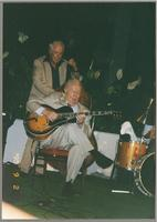 Bob Haggart and Herb Ellis [photograph, front]
