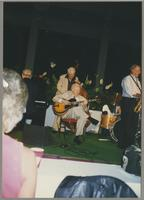 Bob Haggart, Herb Ellis, and Tommy Newsom [photograph, front]