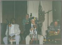 Harry Edison, Bob Badgley, Dan Barrett, and Tommy Newsom [photograph, front]