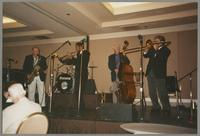 Tommy Newsom, Wendell Brunious, Bob Haggart, and Ross Phillips [photograph, front]