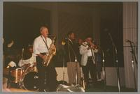 Paul Humphrey, Tommy Newsom, Wendell Brunious, and Dan Barrett [photograph, front]