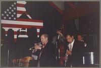 Jim Cullum, Don Mopsick, Evan Christopher, and Howard dElkins [photograph, front]