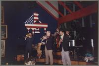 Mike Pittsley, Jim Cullum, Don Mopsick, Evan Christopher, and Howard Elkins [photograph, front]