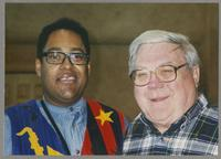Jon Faddis and Milton Fillius Jr. [photograph, front]